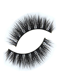 Eyelashes lash Full Strip Lashes Eyes The End Is Longer Extended Lifted lashes Handmade Animal wool eyelash Black Band 0.15mm 12mm