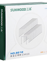 Sunwood®  8212 200 Pages Thick Layer Of Staples/Stitching Needle Size 23/23 1000Pcs / Box