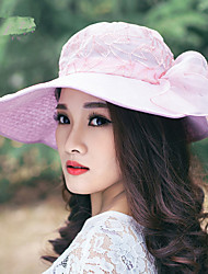 Fashionable Summer Style Lace Cloth Cap Big Big Hood Lady Foldable Sun Hat