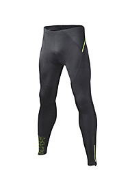 SPAKCT® Calças Para Ciclismo Homens Respirável Secagem Rápida Moto Meia-calça 100% Poliéster Ciclismo/Moto Corrida Primavera Outono