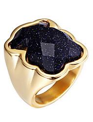 Anéis Diário Casual Jóias Liga Zircão Feminino Anel 1peça,7 8 9 Ouro Rose