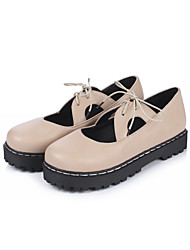 Women's Oxfords Spring Summer Fall Winter Other Novelty Slingback Comfort Synthetic Patent Leather Leatherette PUWedding Office & Career