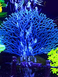 Aquário Decoração Coral Artificial Resina Branco Verde Azul Laranja