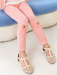 Boy's Cotton Fashion Spring/Fall/Winter Going out/Casual/Daily Warm Sweet Lace Children Pants Elasticity Leggings