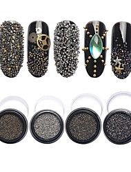 1pcs  Manicure Elf Pearl Crystal Sand 6 Tiny Beads Mixed Micro Drill