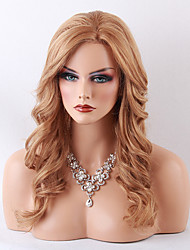 Charming Long Natural Wavy Human Hairstyle Lace Front Wig