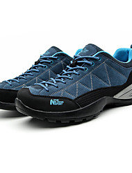 Men's Athletic Shoes Fall Winter Comfort PU Casual Flat Heel Black Blue Gray Navy Hiking