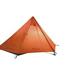 1 Pessoa Tenda Único Tenda Automática Um Quarto Barraca de acampamento OxfordProva de Água Respirabilidade Resistente Raios Ultravioleta