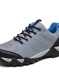 Sneakers Hiking Shoes Mountaineer Shoes Men'sAnti-Slip Anti-Shake/Damping Cushioning Ventilation Fast Dry Waterproof Wearable Breathable