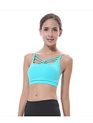 Yokaland Yoga Soutien-Gorges de Sport Séchage rapide Respirable Protectif Diminue Irritation Anti-transpiration Confortable Extensible
