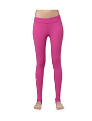 Pantaloni da yoga Calze/Collant/Cosciali Leggings Asciugatura rapida Traspirante Compressione Tessuto ultra leggero Alto Elastico