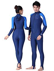 Women's Men's Unisex 1mm Wetsuit Skin Diving Hoods Full Wetsuit Dive SkinsWaterproof Breathable Thermal / Warm Quick Dry Ultraviolet