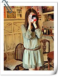 Женское мини-платье с принтом