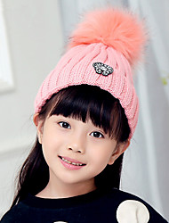 Fashion Autumn And Winter New Alphabet Standard Children 'S Wool Hat Single - Hat Warm Children Knit Hat
