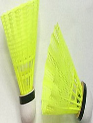 Badminton Balles(Jaune,Nylon) -Durable