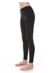 Yoga Pants Tights Breathable Quick Dry Compression Ultra Light Fabric Stretchy Sports Wear Women's Yokaland®Yoga Pilates Exercise &