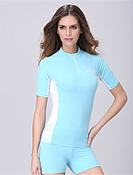 Dive&Sail® Women's 1mm Dive Skins Waterproof Breathable Thermal / Warm Quick Dry Ultraviolet Resistant Wearable Comfortable Sunscreen