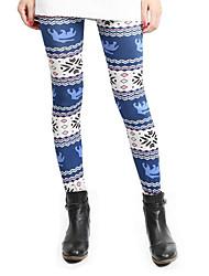 Da donna Skinny Pantaloni della tuta Pantaloni-Semplice Casual Tinta unita A vita medio-alta Elasticità Cotone Micro-elastico Estate