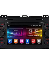 ownice ecrã hd c500 1024 * 600 android 6.0 Quad Core carro dvd player para Toyota Land Cruiser Prado 120 suporte 4G LTE
