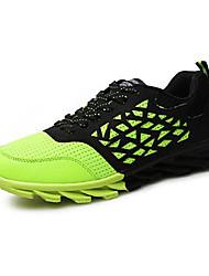 Masculino-Tênis-Conforto-Rasteiro-Verde Laranja Azul Real-Tule-Para Esporte