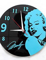 Modern Fashion Creative Mute Wall Clock
