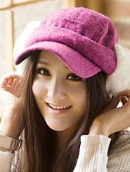 Fashionable Cotton Detachable Ear Womens Baseball Cap Womens Wool Cap