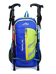 40 L sac à dos Chasse Escalade Sport de détente Cyclisme/Vélo Voyage Ecole Camping & RandonnéeEtanche Réfléchissant Zip étanche