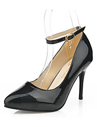 Women's Heels Spring Summer Other PU Casual Stiletto Heel Others Black Red White