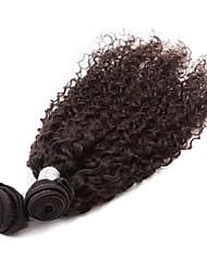 3 Pcs/Lot Brazilian Kinky Curly Virgin Hair Weave Natural Black 100% Remy Human Hair Extensions for Black Women 300g