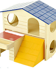 Rodents Hutches Wood Multicolor