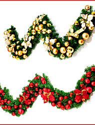 Garlands Wreaths & Garlands Unlit Floral/Botanicals Holiday Floral/Botanical Plastic Christmas Decoration