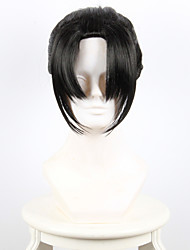 Sword Flurry small Karasuma inner fan Cosplay black ponytail High Temperature Wire Wig