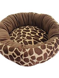 Собака Кровати Животные Одеяла Дышащий Коричневый Котон