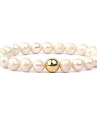 Femme Chaînes & Bracelets Amitié Simple Style Mode Perlé Fait à la main Européen Perle Bijoux Pour Quotidien Décontracté 1pc