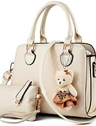 Women PU Formal Outdoor Office & Career Bag Sets