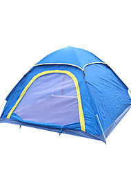 3-4 persons Tent Single Automatic Tent One Room Camping Tent Fiberglass PU Oxford MeshWaterproof Breathability Rain-Proof Dust Proof