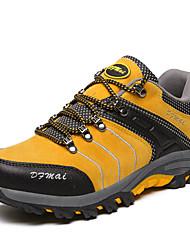 Femme-Décontracté Sport-Jaune Vert Gris-Talon Plat-Confort-Chaussures d'Athlétisme-Polyuréthane