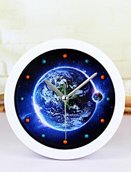Creative Earth Clock Desk Clock Desk Alarm Clock Table Clock Creative Home Decorative Fashion Mute Watches