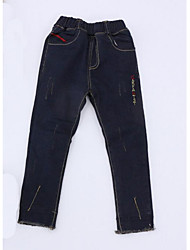 Boy Casual/Daily Solid Pants-Rayon Winter