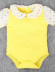 Baby Casual/Daily Solid One-Pieces,Rayon Summer Short Sleeve