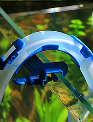 Blue Fish Aquarium Filtration Water Pipes Filter Hose Holder For Mount Tube Tank Accessories