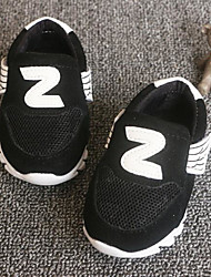 Girls' Baby Sneakers Comfort Leather Athletic Casual Outdoor Running Comfort Black Blue Blushing Pink Flat