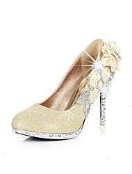 Noble lace high restoring ancient ways with the bride wedding dress female sandals wedding shoes Rose Gold