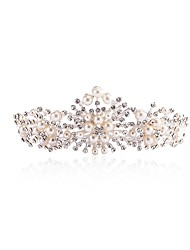 Women's Rhinestone Fabric Headpiece-Wedding Special Occasion Flowers 1 Piece