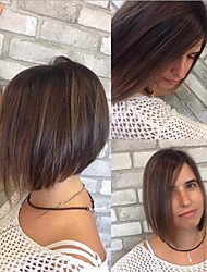 Synthetic Short Wigs for Women Natural Hair Wave Wigs Ombre Color American Wigs Short Bob Wigs for Women