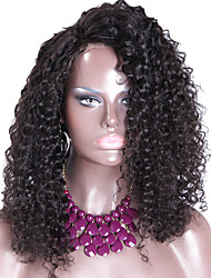 Peruvian Virgin Hair Unprocessed Glueless Full Lace Human Hair Wigs Long Curly With Combs