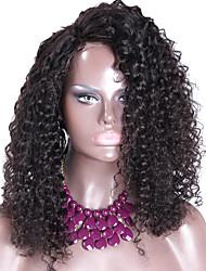 150% de la densité de la dentelle bouclés perruque avant cheveux humains perruques bresilien pour les femmes noires en dentelle perruques