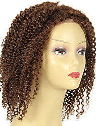 Malaysian Afro Kinky Curly Virgin Hair wig 180 density Front #4 Human Hair Color Kinky Curly Weave Human Hair wig Natural Hairline