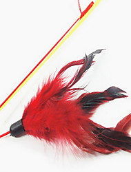Cat Toy Pet Toys Teaser Bell Red Plush