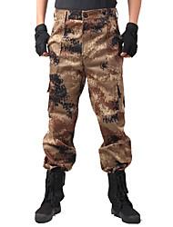 Unissexo Calças Caça Vestível Materiais Leves Primavera Verão Outono Camuflagem